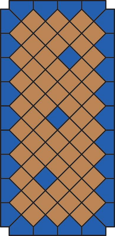 Схема замощення: Бруківка Квадрат 150х150