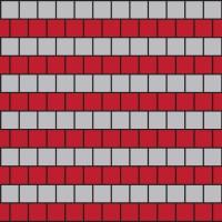 Схема замощенн Бруківка Квадрат 50x50