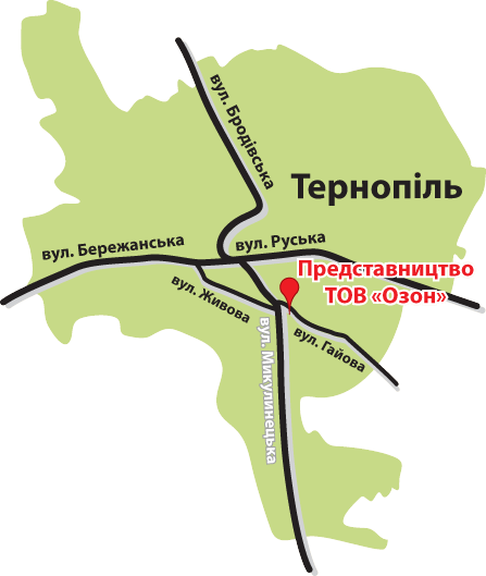 Бруківка: Торгова мережа — Тернопільська область