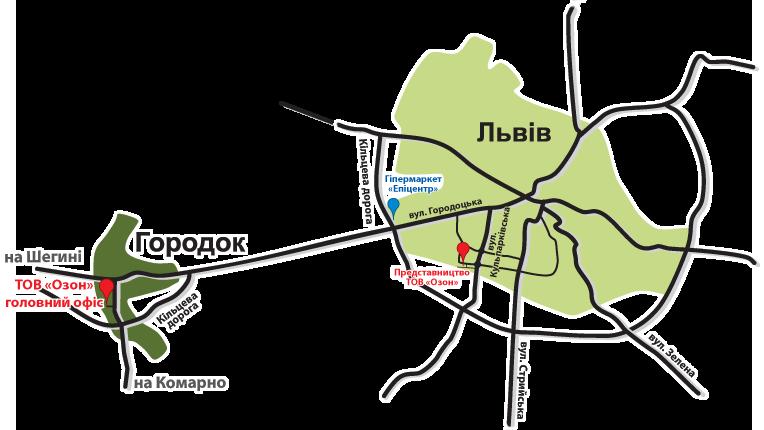 Бруківка: Торгова мережа — Львівська область