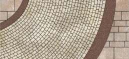 схема укладання бруківки Деталіт