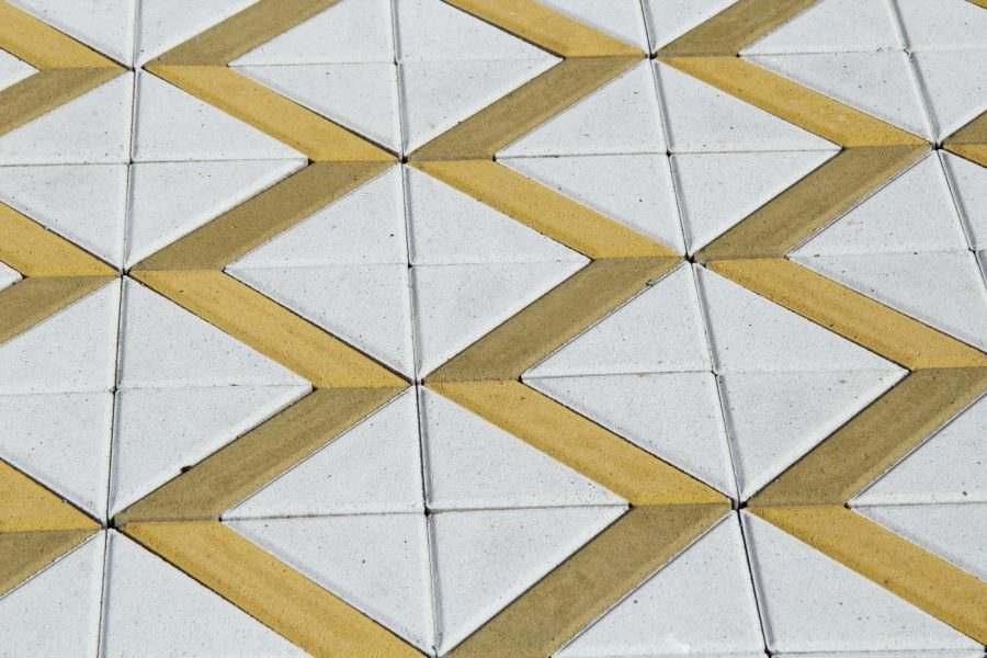 Бруківка Трикутник фото